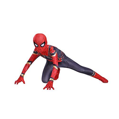 YEGEYA Spiderman Cosplay Kostüm Halloween Strumpfhose 3D Print Film Zubehör (Color : Picture color, Size : - Cosplay Kostüm Astrid