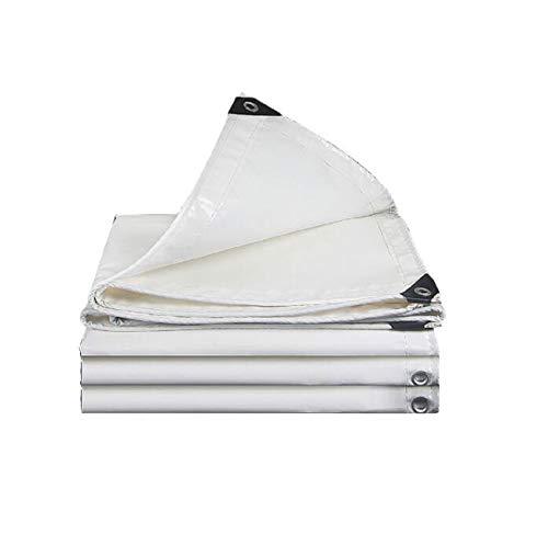 HR Plane-LKW-Plane des Planes der Plane der weißen Plane der Plane streichen Segeltuchregen-Tuchregenabdeckung des Planes (Size : 5 * 7m) -