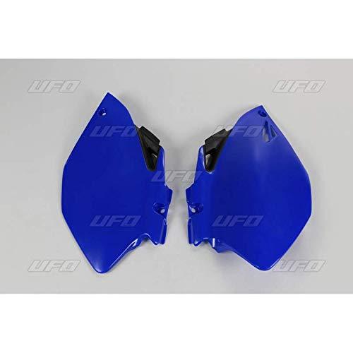 UFO - Plaques Latérales Bleu Compatible Yamaha 250 450 YZF 06-09