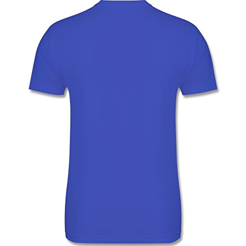 Tennis - Life is simple Tennis - Herren Premium T-Shirt Royalblau