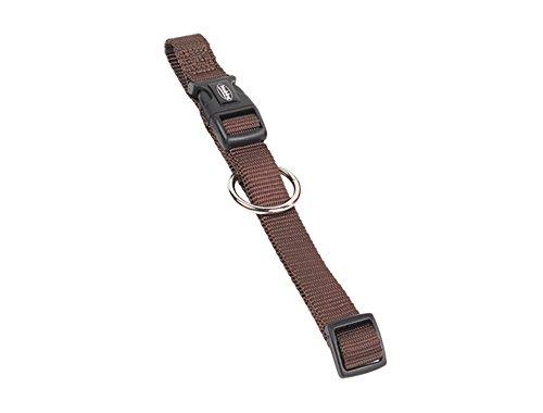 Nobby Halsband Classic, braun, Länge 30-45 cm; Breite 15 mm