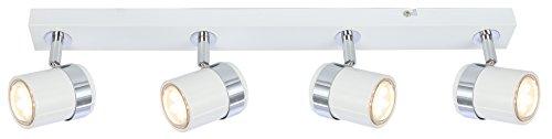Moderne élégant 3voies plafonnier spot luminaire droite Bar compatible LED