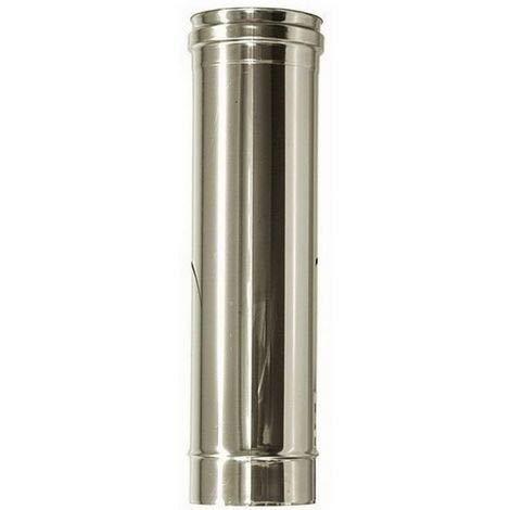 Tubo in acciaio inox per canne fumarie L 500mm (DN 120)