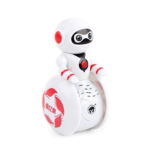 ACOC GotechoD Robot de Control Remoto de programación Robot RC Juguetes para niños de 8 años de Edad Regalo, Robot Inteligente Caminar Canto Robot Remoto para niños niñas,Rosado