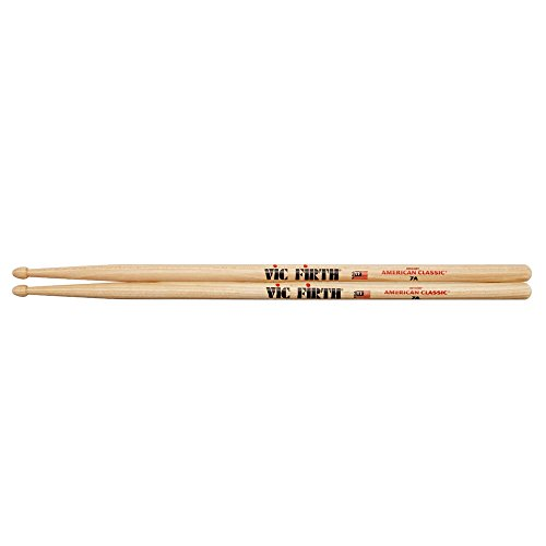 Vic Firth Drumsticks 7A (Hickory, Holzkopf) (Drum Sticks Vic)