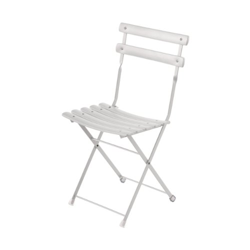 Arc en ciel sedia pieghevole Set di 2-Bianco