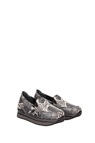 Slip On Hogan Donna - Pelle (HXW2220T670DRY) EU Nero