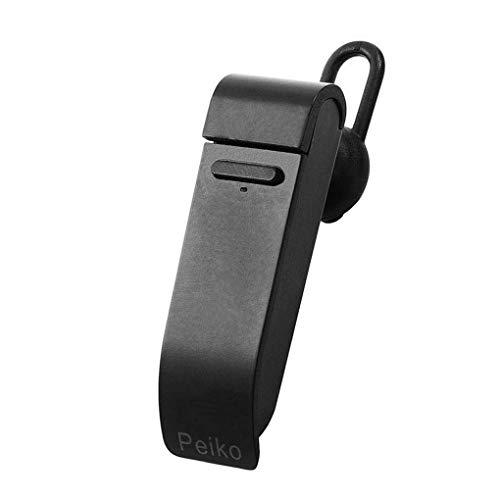 Dpolrs Smart Converter Ohrhörer, unterstützt 28 Sprachen, intelligente Übersetzung, kabellos, Bluetooth-Kopfhörer, Schwarz, 61 * 18 * 18mm -