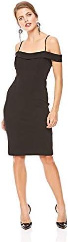 Bebe Women's 70477 Bebe Solid Bodycon Dress for Women - B