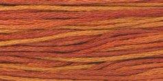 terra-cott-floss-wochen-o-dyed