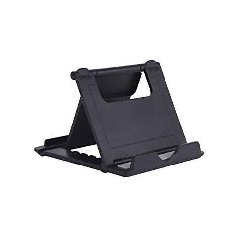 SJZJYHD Universal-Tischtelefonhalterung Faltbare Handyhalterung Multi-Angle Pocket Desk Holder für iPhone X / 8/7 / 6s Mini Tablet Stand -