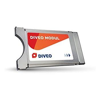 DIVEO CI+ Modul für Satelliten TV inklusive HD-Karte für 3