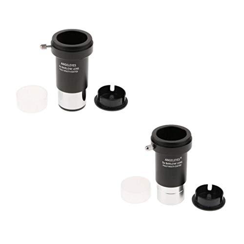 D DOLITY Lente Barlow 5X + 3X Bushnell Leica Zeiss