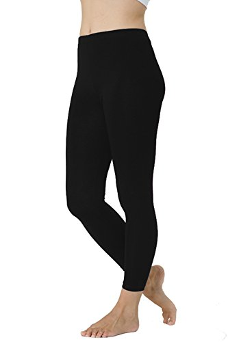 Damen Thermoleggins / Thermoleggings Nr. 383  Schwarz