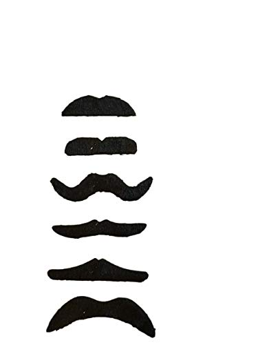 Falsche Schnurrbärte, Zum Verkleiden; - Falschen Schnurrbart Kostüm