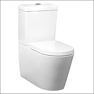 KAI-CCP0: White Close Coupled Toilet