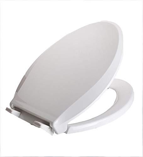 LDFN-toilet lid Toilettendeckel PP-Board U-Typ Allgemeiner Zweck WC-Abdeckung Haushalt Verdicken Erwachsene Kind Duale Verwendung Eltern-Kind WC-Board,A