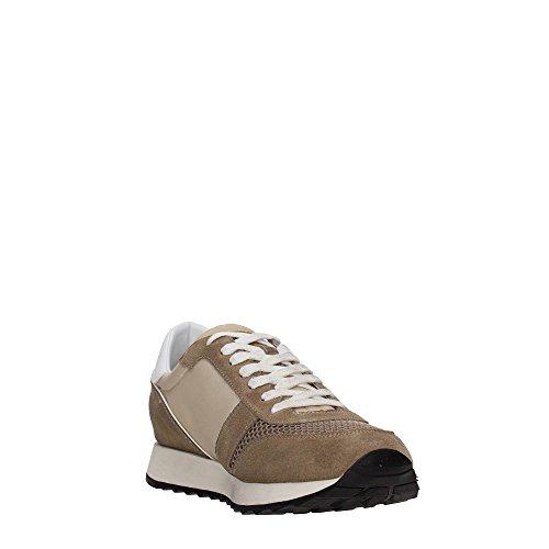 Trussardi Jeans 77S064 Blu e Nero Sneakers Uomo Scarpa Sportiva Casual Taupe
