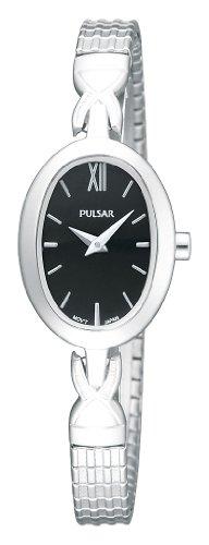 Pulsar Uhren Klassik PM2005X1 - Reloj analógico de cuarzo para mujer, correa de acero inoxidable color plateado