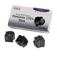 Xerox 108R00663 WorkCentre C2424 colorstix Standardkapazität 3 x 1.133 Seiten 3er-Pack, schwarz -