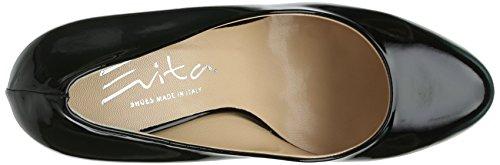 Evita Shoes - Pumps Geschlossen, Scarpe col tacco Donna Nero (Schwarz (Schwarz)
