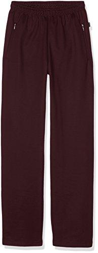 Trigema Herren Sporthose Freizeithose Sweat-Qualität Violett (Aubergine 096)