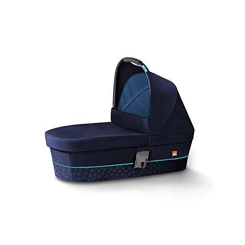 gb Gold Cot M, Kinderwagenaufsatz, sea port blau