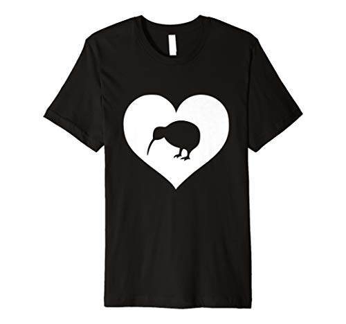 Neuseeland Kiwi Vogel T-Shirt Geschenk für Damen Herren Teens Kinder