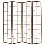 Miliboo - Biombo japonés de madera y papel IKUYO