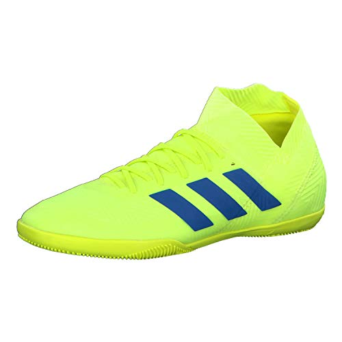adidas Herren Nemeziz 18.3 In Fußballschuhe, Gelb Solar Yellow/Football Blue/Active Red, 44 2/3 EU