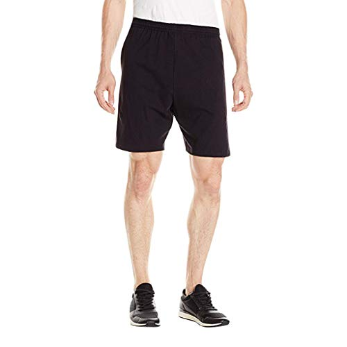 Binggong Herren Shorts Sommer Solid Sweatshorts Männer Elastische Comfort Laufshorts Sporthose