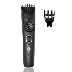 Xmate Quik Cordless Trimmer, 120 min Runtime, 20 Length Settings, USB fast Charging, Lightweight, Rechargeable Beard Trimmer for Men (Black)
