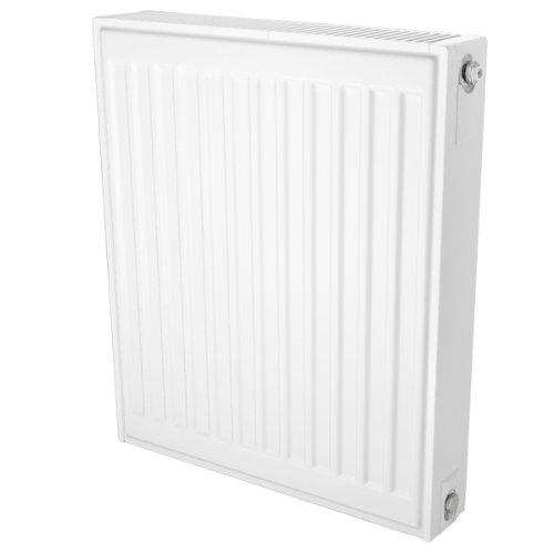 Type de radiateur de chauffage central 22 double radiateur panneau convecteur 800 mm de long , 600 mm de haut , la connexion côté