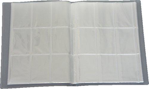 Fußball Album (Leere Sammelmappe - 32 Seiten (576 Karten) - Ideal für Sammel Bilder/Karten - Farbe Neutral)