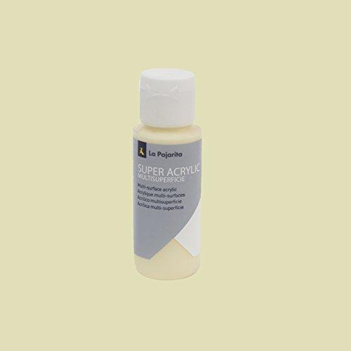 La pajarita 51 - Pintura acrílica, color crema