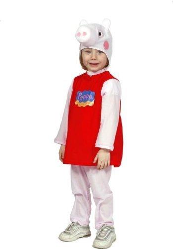 Costume di Carnevale Peppa Pig Taglia 3/4 anni