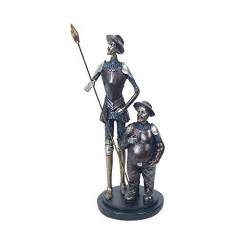CAPRILO. Figura Decorativa Resina Don Quijote Sancho