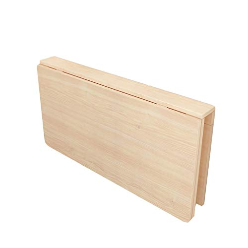 DX Dongy Klappwandbehang Computertisch, Kreative Heimat Küche Aufbewahrungstisch Holz Ess