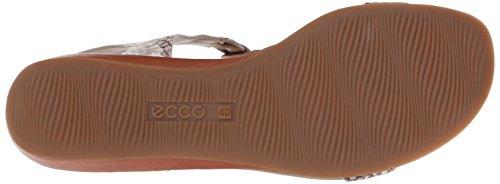 ECCO Bouillon Sandal Ii, Scarpe Col Tacco con Cinturino a T Donna Marrone (Braun (COGNAC/SAGE59520))