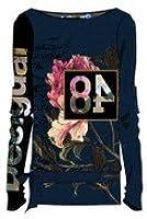 Desigual Damenshirt TS NEUSIFU 57T24D9/5000, blau