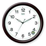 Ajanta Plastic Orpat Wall Clock (Satin B...