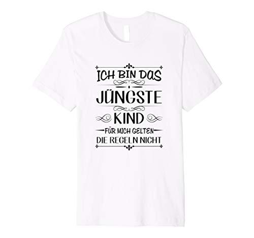 Ich bin das jüngste Kind gelten die Regeln nicht T-Shirt - Kind Jüngstes