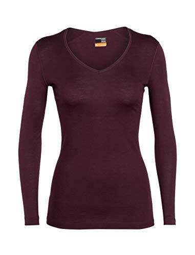 Icebreaker 200 Oasis Longsleeve V Shirt Women - Merino Langarmshirt
