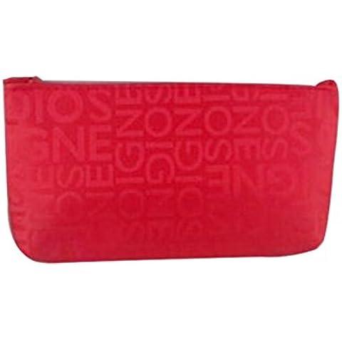 YARBAR Imprimir bolso cosmético del viaje Carta de Tocador Carta Caso Imprimir Caso de maquillaje bolsa de la cremallera