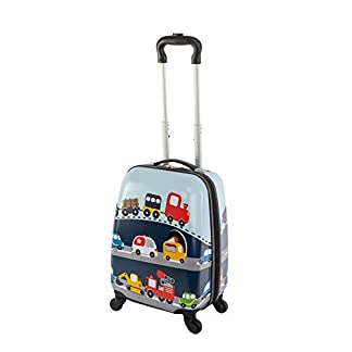 Travelhouse-Happy-CHILDREEN-Trolley-Kinder-Koffer-Trolley-ReisekofferReisetrolley-Verschiedene-Gren-und-Farben
