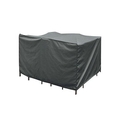 greemotion Abdeckung für Loungemöbel - Abdeckhaube Gartenmöbel Grau - Schutzhülle Lounge Set -...