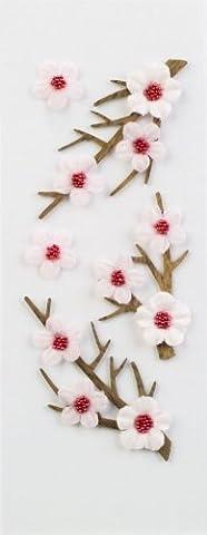 Sticker Embellishments Little B Cherry Blossoms Mini Stickers