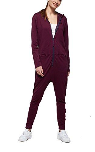 OnePiece Damen Jumpsuit UNO, Violett (Burgundy), 36 (Herstellergröße: S) - 3