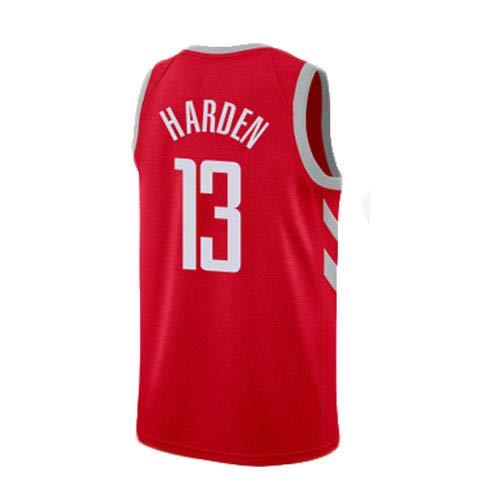 SEYE1° NBA-Playoffs-Basketballuniform, Rockets # 13, Harden, ärmelloses Basketball-T-Shirt, Sportbekleidung