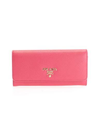 Prada luxury fashion donna 1mh132qwaf0505 rosa portafoglio | autunno inverno 19